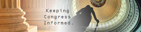 Congressional Affairs: Keeping Congress Informed.