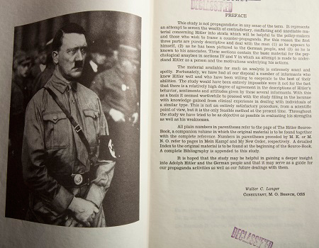 behavioral analysis of adolf hitler The outward sexual behavior of hitler aligns with evolutionary biology in regards to  a psychological analysis of adolf hitler university of mary washington.