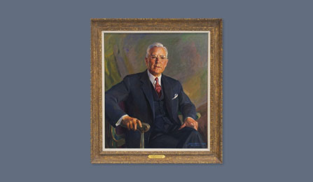 Directors Portrait Gallery - The Honorable John A. McCone