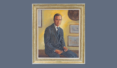 Directors Portrait Gallery - The Honorable George H. W. Bush