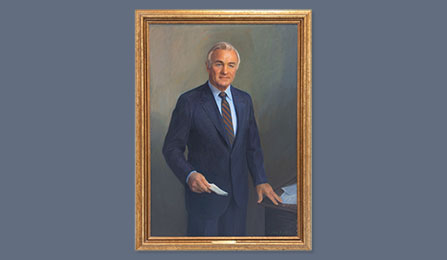 Directors Portrait Gallery - Admiral Stansfield Turner, USN (Ret.)