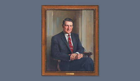 Directors Portrait Gallery - The Honorable William H. Webster