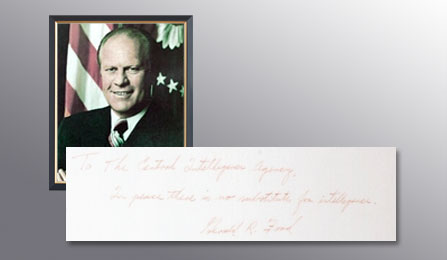 Presidents Gallery - Gerald Ford