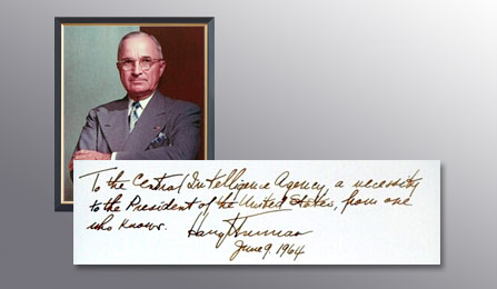 Presidents Gallery - Harry S. Truman