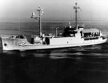 Image of the U.S. Navy spy ship Pueblo