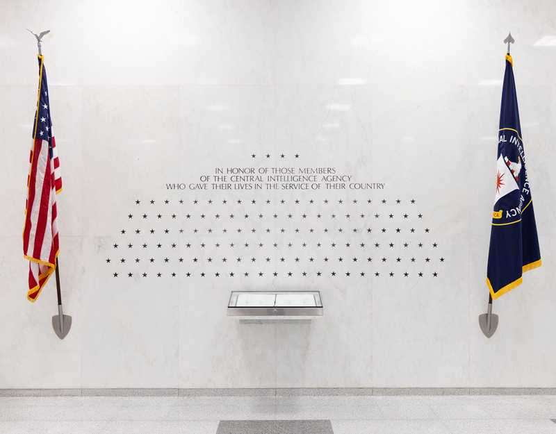 CIA Memorial Wall — A quick note about the 37 classified stars