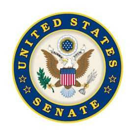 United States Senate seal.