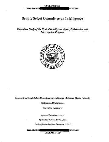 Scanned version of the Senate Select Committee on Intelligence study.