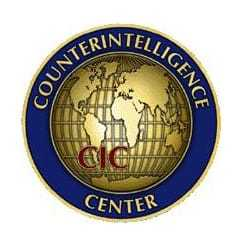 Logo for the Counterintelligence Center.