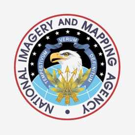 National Imagery and Mapping Agency seal
