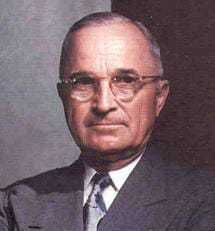 Headshot of Harry S. Truman.