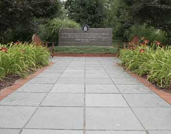 Memorial dedicated to CIA employees who were attacked outside of the CIA headquarters.