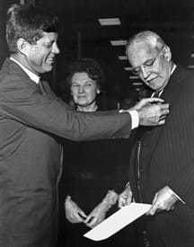 Allen W. Dulles being appointed DCI by President Kennedy.