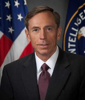 Headshot of DCIA David Petraeus.