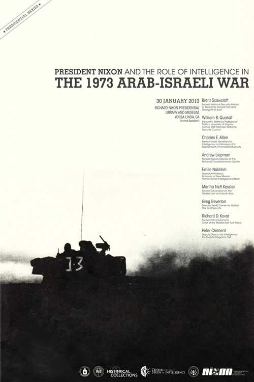 Cover page for the document President Nixon and the Role of Intelligence in the 1973 Arab-Israeli War