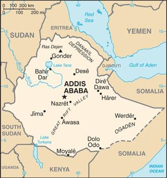 Ethiopian Map
